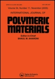 International Journal of Polymeric Materials: Taylor & Francis