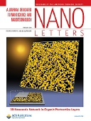 Nano Letters: American Chemical Society Publications