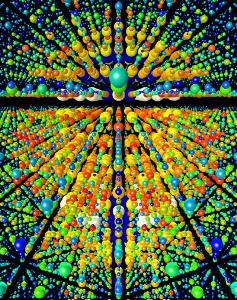 激光确定微小的蛋白质水晶三维结构