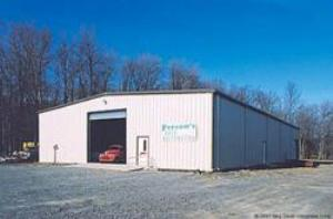 Prefab Metal Building Kit Supplied To Precision Auto Body