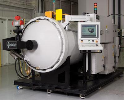 Ipsen S Titan Vacuum Heat Treat System Featured At Cygnus