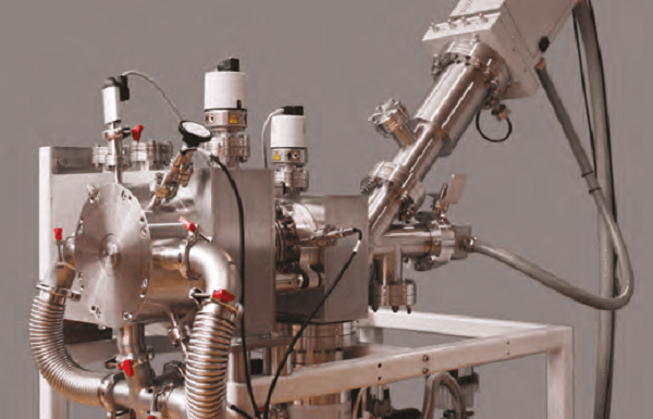 Molecular Beam Mass Spectrometer Monitors Reactive Ions at Ambient Pressure