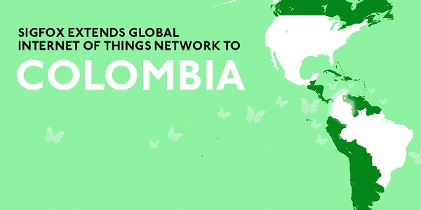SIGFOX Partners With WND and Phaxsi Solutions To Link Colombia To Global Internet Of Things Network