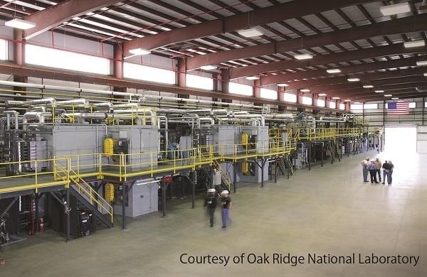 Harper Teams with Oak Ridge National Laboratory on Carbon Fiber Project
