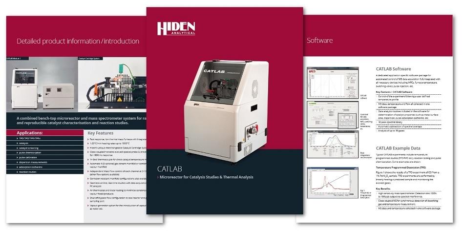 New Hiden CATLAB Microreactor/MS Brochure
