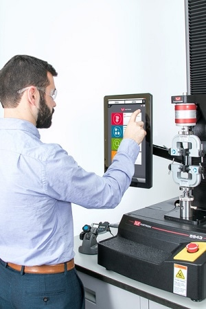 Instron® Releases Bluehill® Universal Software Designed for Touch