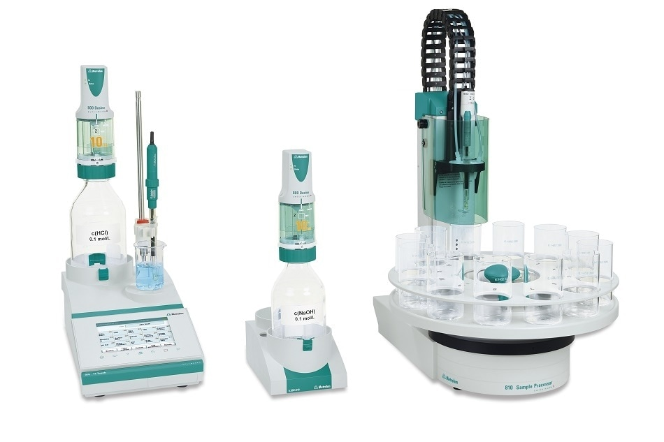 Metrohm Releases New Autosampler and Significant Upgrade to its 915, 916 and 917 Ti-Touch Titrators