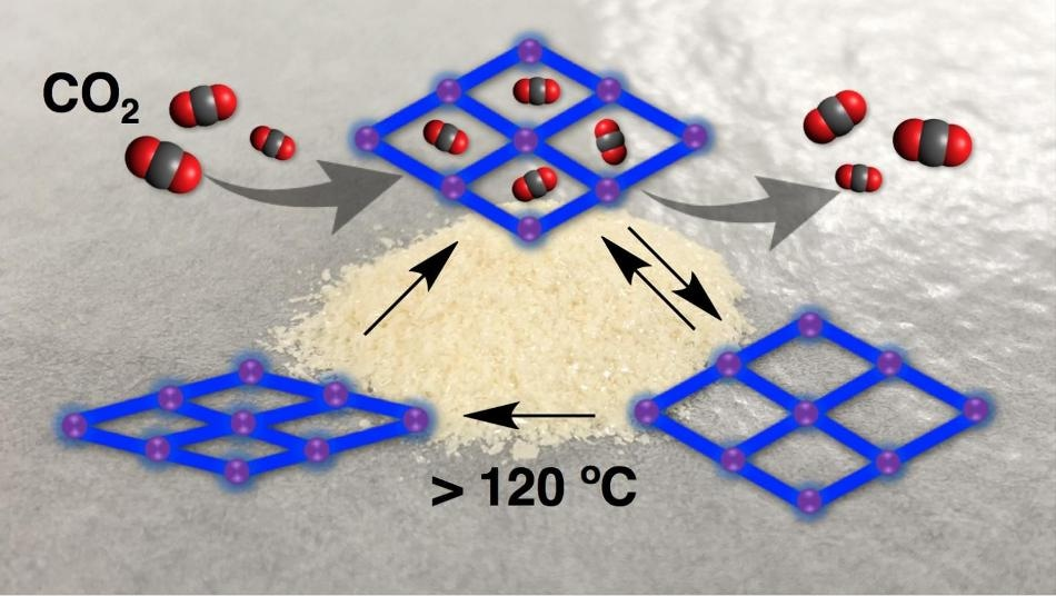 Co2 Adsorbing Crystals Develop Shape Memory Porous Materials