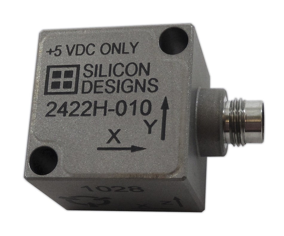 Silicon Designs Introduces Low Voltage +5 VDC Specialty Hermetic MEMS Variable Capacitive Accelerometers