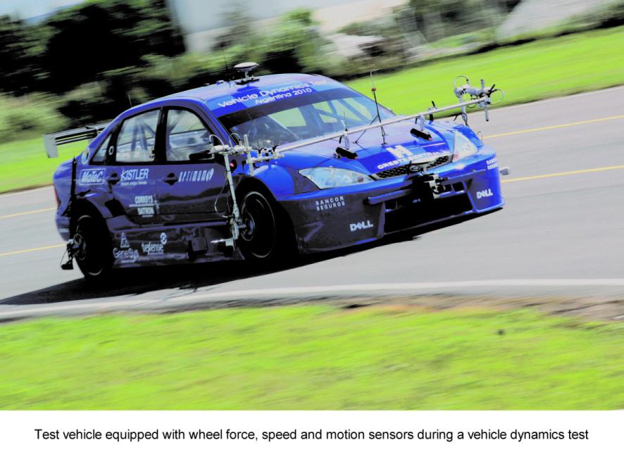 Kistler Launch Rental Service for Its Vehicle Dynamics & Durability Testing Equipment