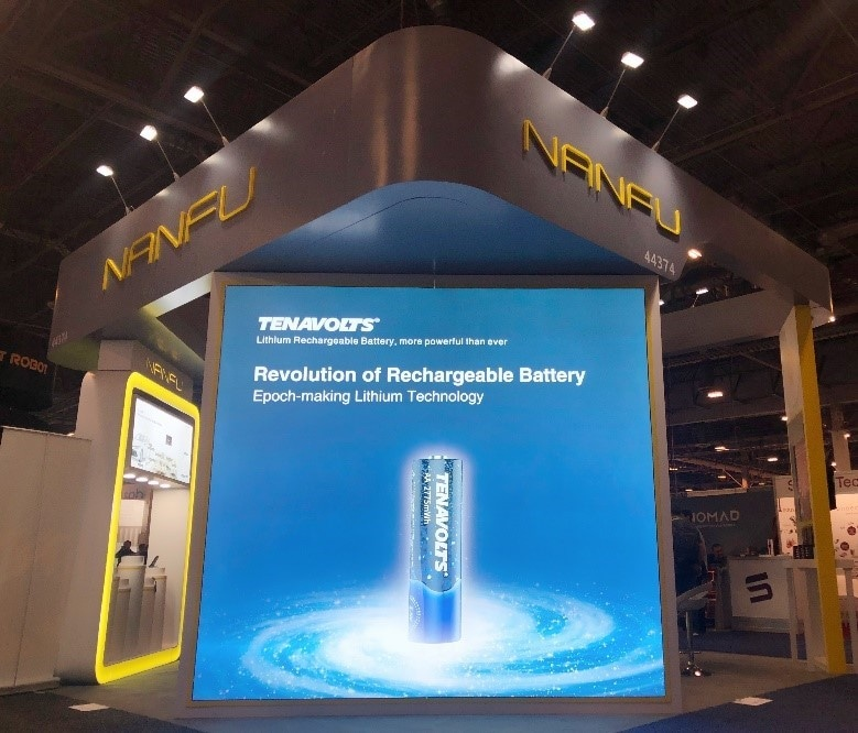 Tenavolts' Rechargeable Lithium Battery Launched at CES 2019