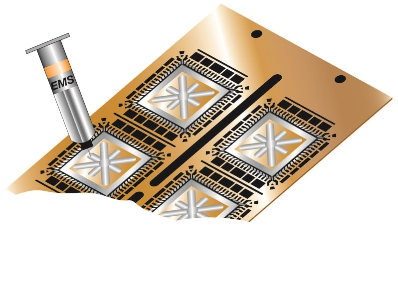 Engineered Material Systems Introduces New High Thermal Conductivity Die and Component Attach Adhesive