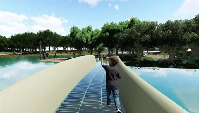 China Opens its First 3D Printed Pedestrian Bridge Made from ASA Composite Material