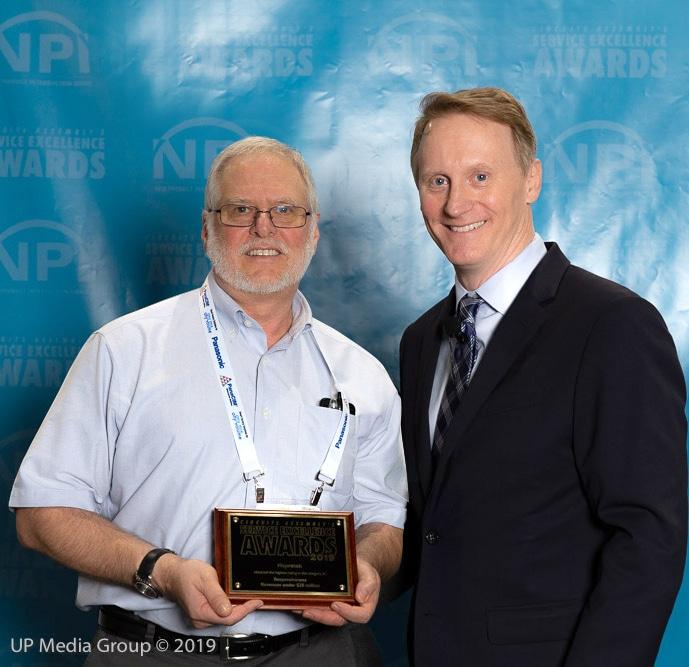 Naprotek Receives Service Excellence Award