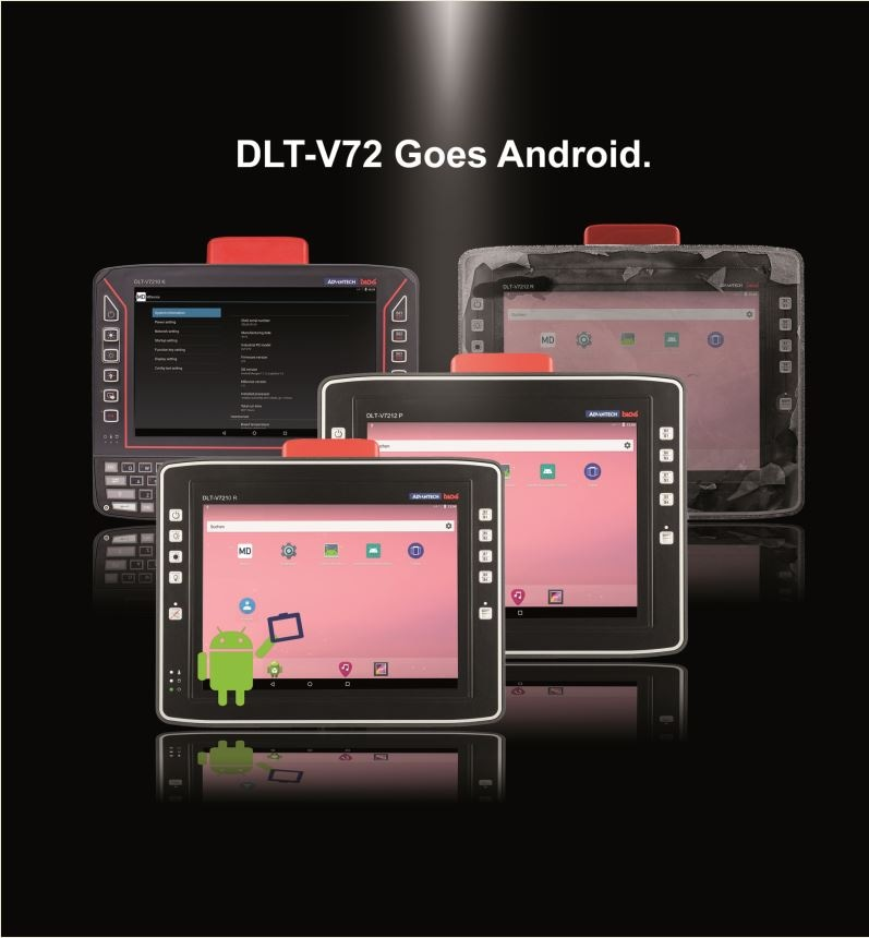 Advantech's DLT-V72 Rugged Vehicle-Mounted Terminals Now Available with Industrial Android OS