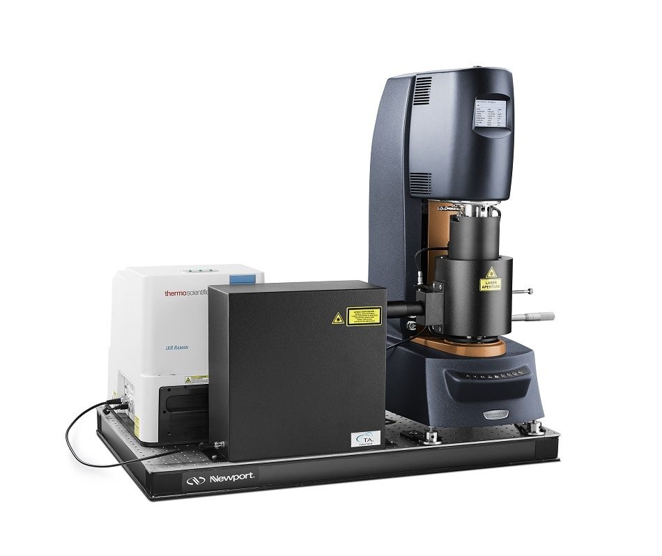 TA Instruments Introduces New Rheo-Raman Accessory for the Discovery Hybrid Rheometer