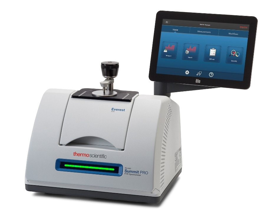 Compact FTIR Spectrometer Features Unique Design and New Software Platform Created for Enhanced Productivity