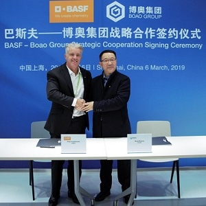 BASF & Boao to Develop PU System Solutions for Construction & Automotive Industries