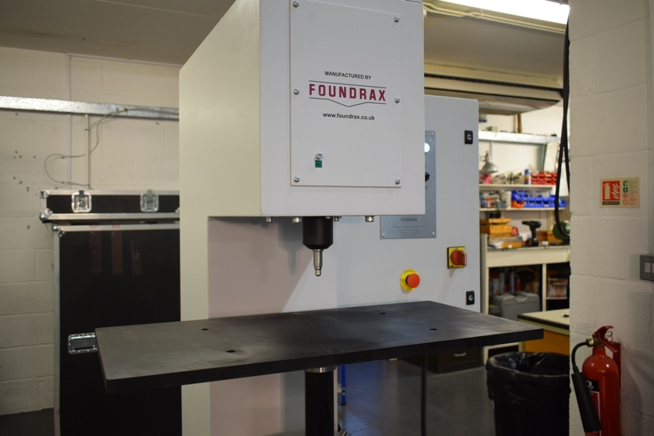 Foundrax Hardness Testing Solution Guarantees 100% Quality of Suspension Components for Prestigious German Automotive Manufacturer