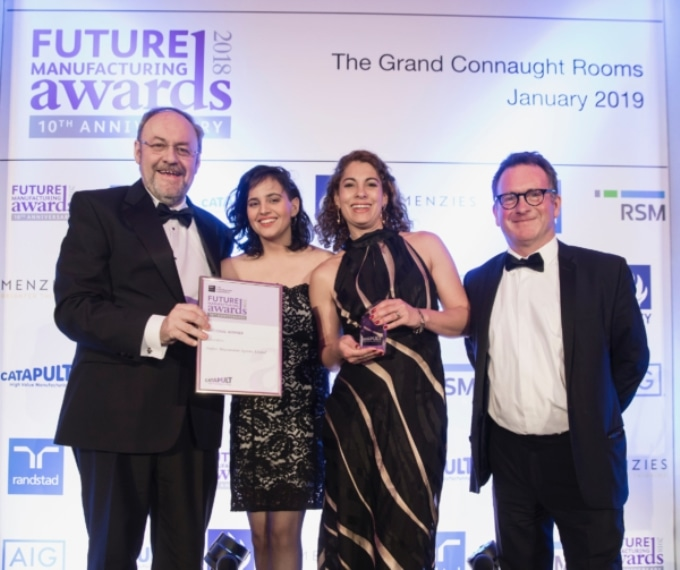 Surface Measurement Systems is the National Winner of the Prestigious EEF Future Manufacturing Award for Innovation