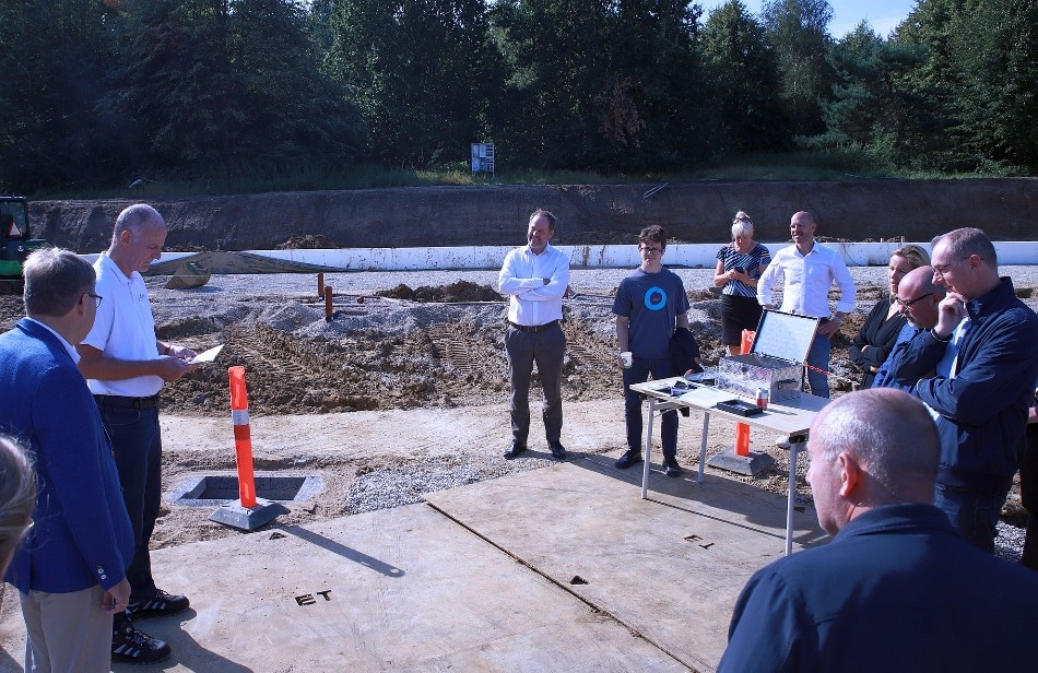 Delta Optical Thin Film A/S Celebrates Cornerstone-Laying Ceremony