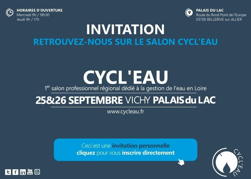 "Molecor Will be Present at the ""CYCL'EAU Vichy 2019"" Event on September 25 and 26 in Bellerive sur Allier, France"