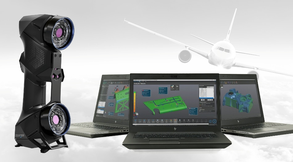 Creaform Launches HandySCAN AEROPACK for the Aerospace Industry