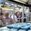 Visitors Get an Inside Look at What Goes in to Illig Thermoforming Machines