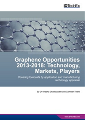 Market and Technology Opportunities for Graphene