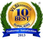 Advantest Earns a Place on VLSIresearch's 10 Best Semiconductor Test Equipment Supplier List