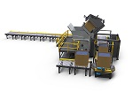 Fully Automated, Self-Contained Bulk Material Handling System