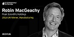 Robin MacGeachy Peak Scientific Managing Director wins Ernst and Young UK - Entrepreneur of the Year Award for Manufacturing 2014