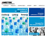 AMETEK Test & Calibration Instruments Launches New Website