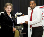 Goodfellow Award Presented at South African Institute of Physics Annual Conference