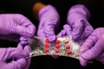Flexible Water-Based Band-Aid with Embedded Electronics Faciltates Smart Drug Delivery