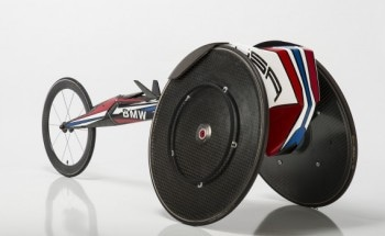 BMW Designs 3D Printed Wheelchairs for the US Paralympics Team