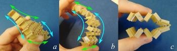 Shape-Changing Metamaterial Developed Using Kirigami