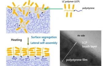 Researchers Develop New Strategy to Obtain Polymer Brushes on Surfaces Using Diblock Copolymers