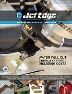 Jet Edge Highlights Precision Waterjet Cutting Systems in New Brochure