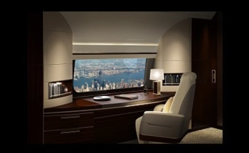 Boeing, GKN Aerospace Partner to Develop Largest Skyview Panoramic Window for Passenger Jets