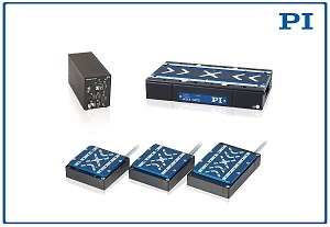 New Linear Motor Stages with Magnetic Direct Drives and New Motion Controller, from PI