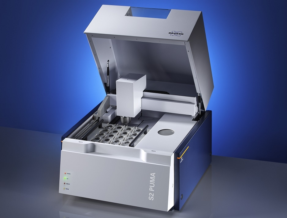 Data-Safe Process & Quality Control of APIs and Inorganic Impurities with Bruker´s EDXRF Spectrometer S2 Puma