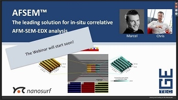 Introducing the Leading Solution for Correlative AFM-SEM-EDX Analysis