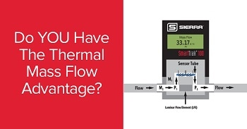 New Sierra Instruments' Infographic Explains Advantage of Thermal Mass Flow Controllers for Industrial Applications