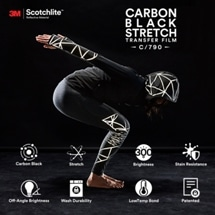 3M Redesigns Reflective Material with Carbon Black Technology for use as Activewear