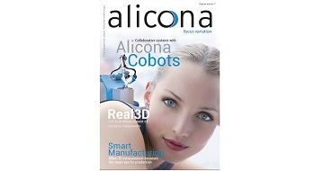 Metrology for Manufacturing from Alicona