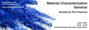 Introducing Pioneering Technology for in-line Monitoring - Invitation to Material Characterization Seminar in Puerto Rico