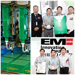 Nordson ASYMTEK Receives Innovation and Vision Awards