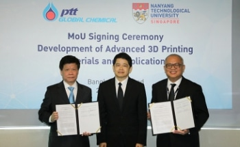 NTU Singapore, Thai Petrochemical Leader PTTGC to Develop New 3D Printing Materials for Automotive Sector