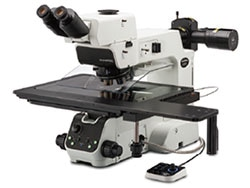 Olympus' MX63 and MX63L Microscopes Ideal for Inspecting Large Industrial Samples